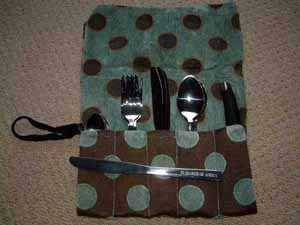Cutlery Roll and Engraving